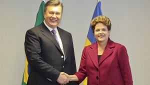 Yanukóvich & Dilma Rousseff