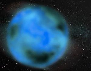 Representacion de un planeta fugado