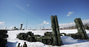 Misiles antiaéreos S-400