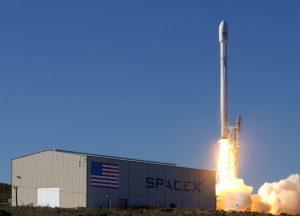 Lanzamiento de un Falcon 9