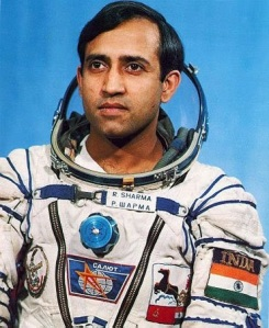 Rakesh Sharma, el primer astronauta indio